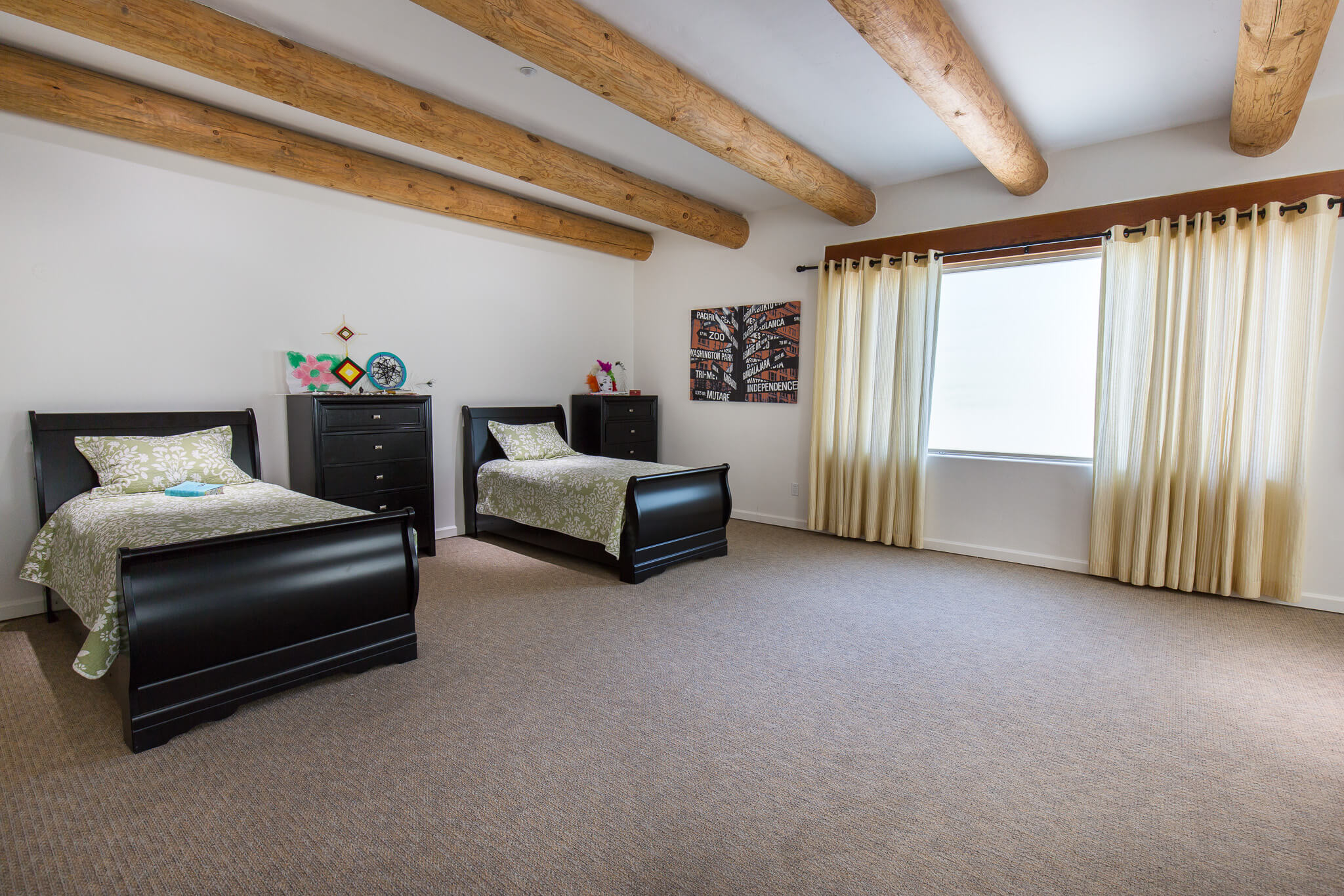 Large client room in Cheney House