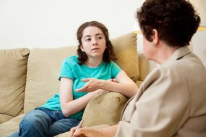 A teen girl learns about 12 step recovery in los angeles ca from her therapist