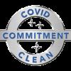 Covid Clean emblem